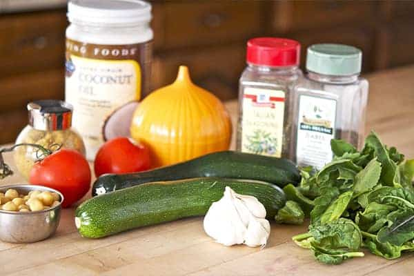 Vegan Stuffed Zucchini Boats With Dairy-Free Parmesan Ingredients List