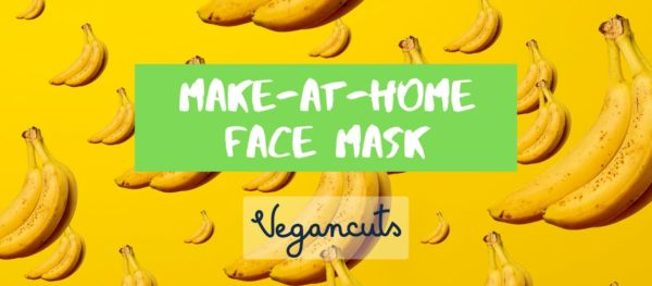 DIY Moisturizing Vegan Face Mask made with Bananas Lemon and Oats