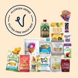 Gluten-Free Snack Box (Vegancuts Allergen Series)