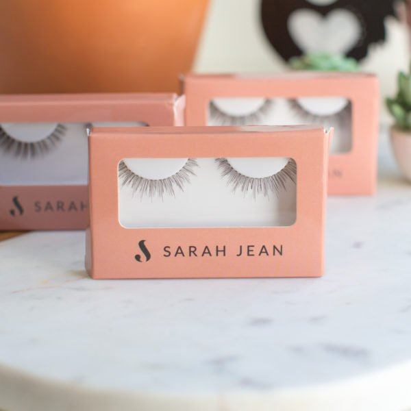 Vegancuts Floral Fantasy Makeup Box Sarah Jean False Lashes