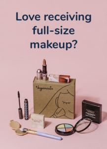 Makeup Box - Love receiving full size makeup