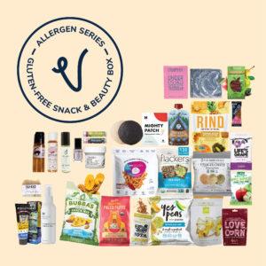Vegancuts Allergen Series Gluten Free Snack & Beauty Box