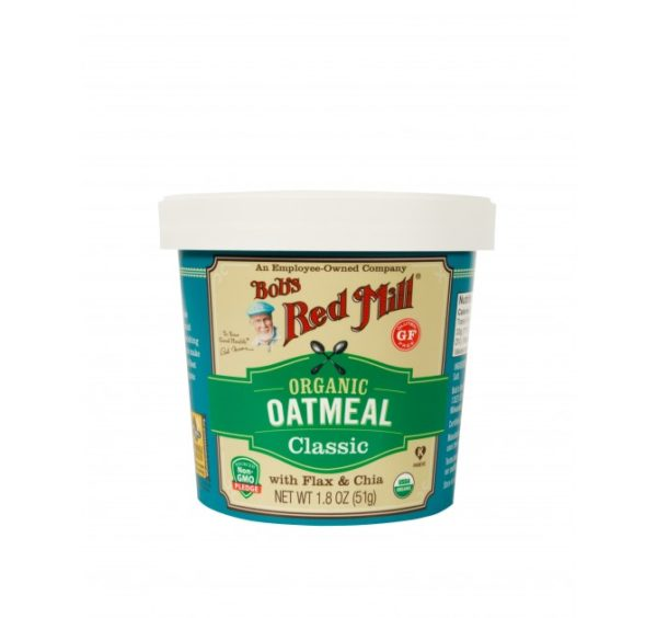 Bob's Red Mill Organic Oatmeal Cup