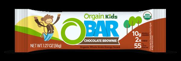 Orgain Chocolate Brownie Bar