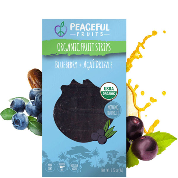 Peacful Fruits Blueberry + Acai Drizzle