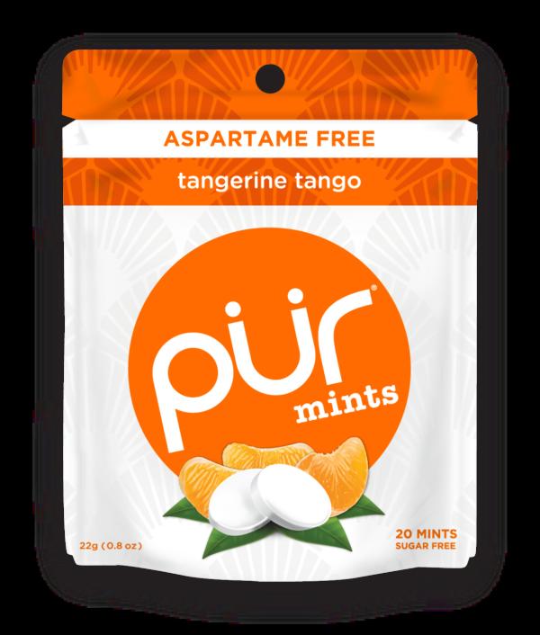 PUR Gum Tangerine Tango Mints