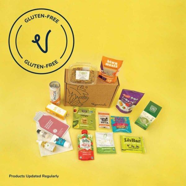 Vegan Gluten Free Snack and Beauty Box