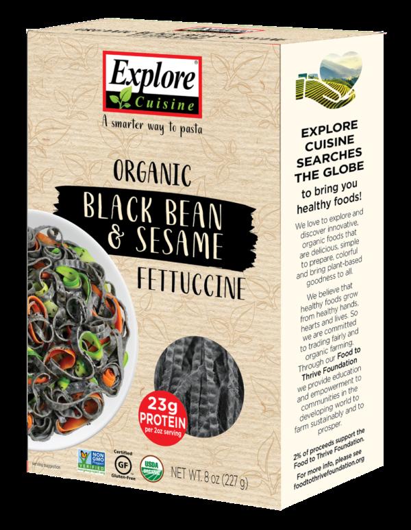 Explore Cuisine Organic Black Bean and Sesame Fettucine