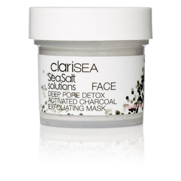 clariSEA Deep Pore Detox Activated Charcoal Exfoliating Mask