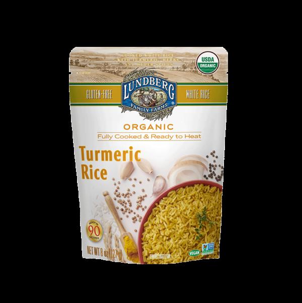 Lundberg Family Farms Turmeric Ready to Heat Rice
