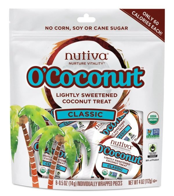 Nutiva O'Coconut Snacks (Bag of 8!)
