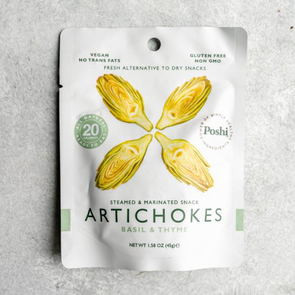 Elma Farms Poshi Marinated Artichokes December 2019 Snack Box