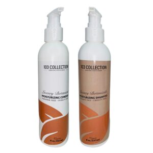 103 Collections' Shampoo and Conditioner as part of the Spotlight program