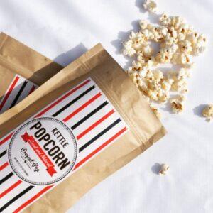 Project Pop's Kettle Corn as featured on the Spotlight program
