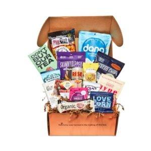 a vegan snack box gift idea