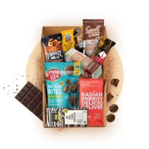 chocolate snack box vegan subscription