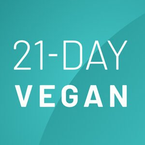 21 day vegan app for vegan beginners