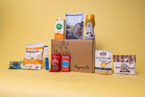 vegancuts snack box items