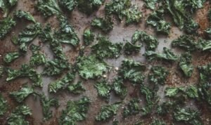 crispy kale raw vegan snack chips