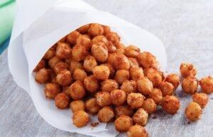 roasted chickpeas vegan snack