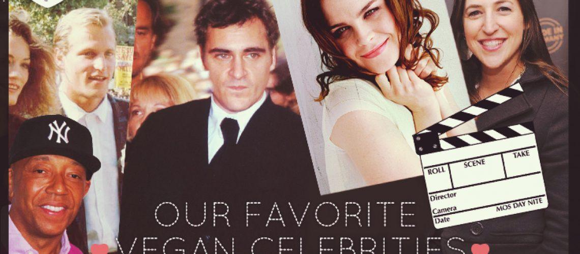 Our Favorite Vegan Celebrities