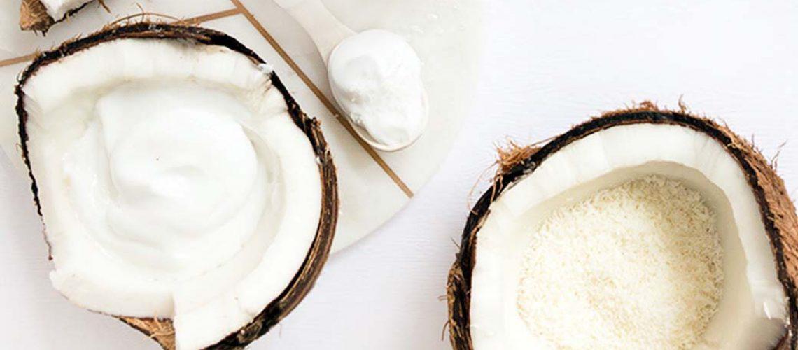 DIY Coconut hair mask